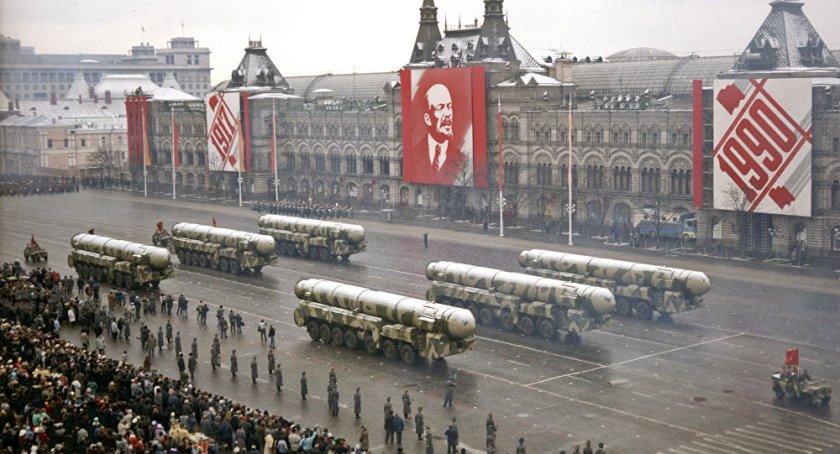 Défilé militaire soviétique 1990
