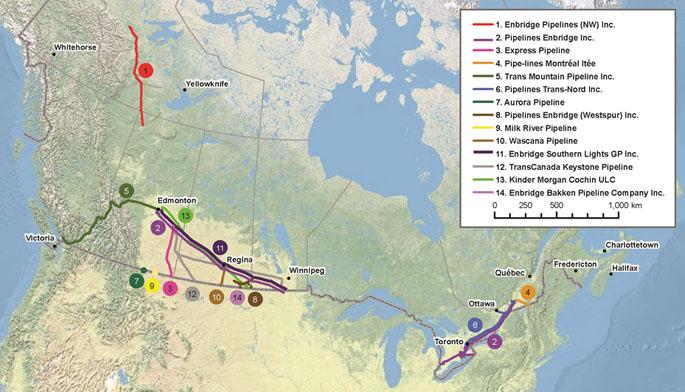 pipelines canada